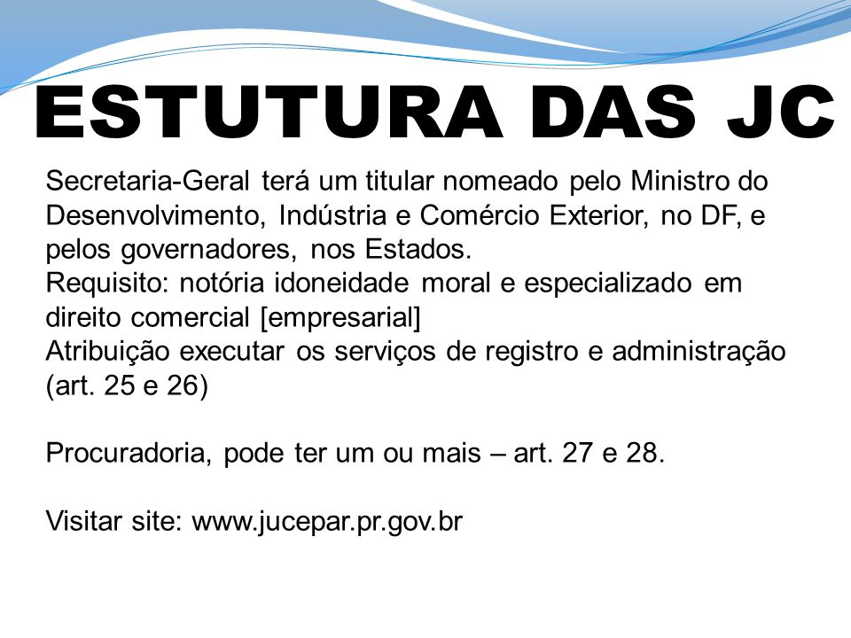 Art.36 da Lei nº 8.934/1994: os documentos referidos no inciso II do art.