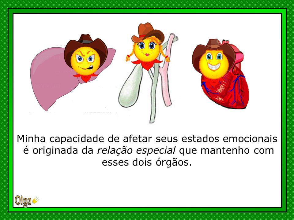 Segundo a Filosofia Taoísta, todo processo emocional relaciona-se com o Coração, considerado a Central Gerenciadora da Fisiologia das Emoções, e com o Fígado, encarregado de regular os chi emocionais.