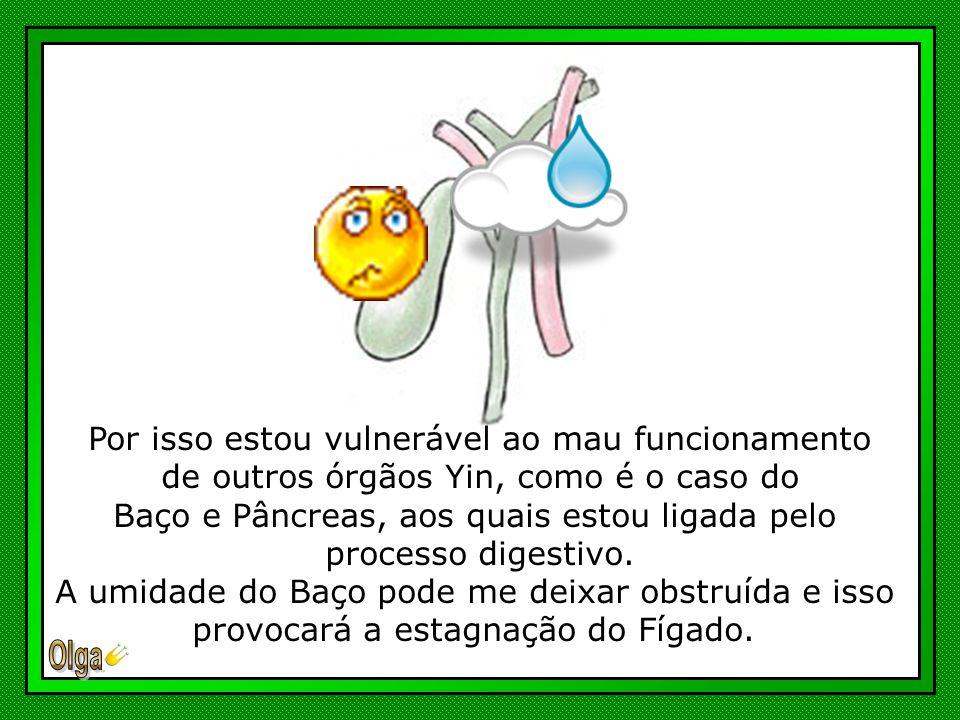 O desequilíbrio em um de seus órgãos, provocará inevitavelmente, problemas nos demais...