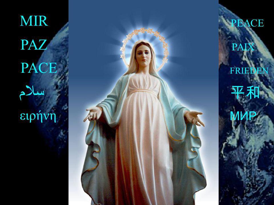MIR PAZ PACE PEACE PAIX سلام МИР ειρήνη FRIEDEN 2007 25 DE NOVEMBRO
