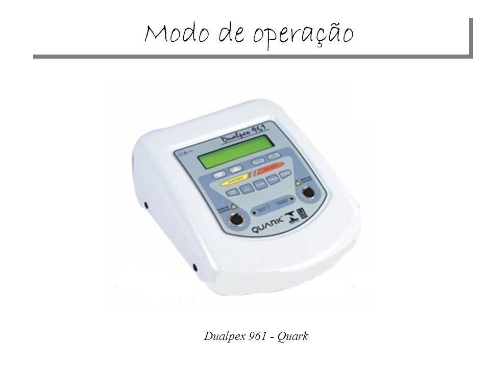 Dualpex 961 - Quark