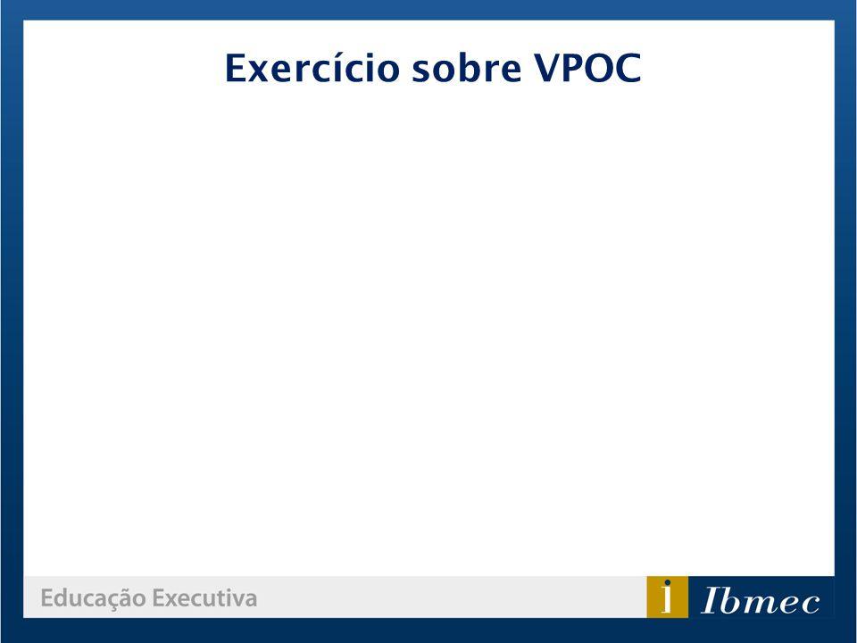 Exercício sobre VPOC