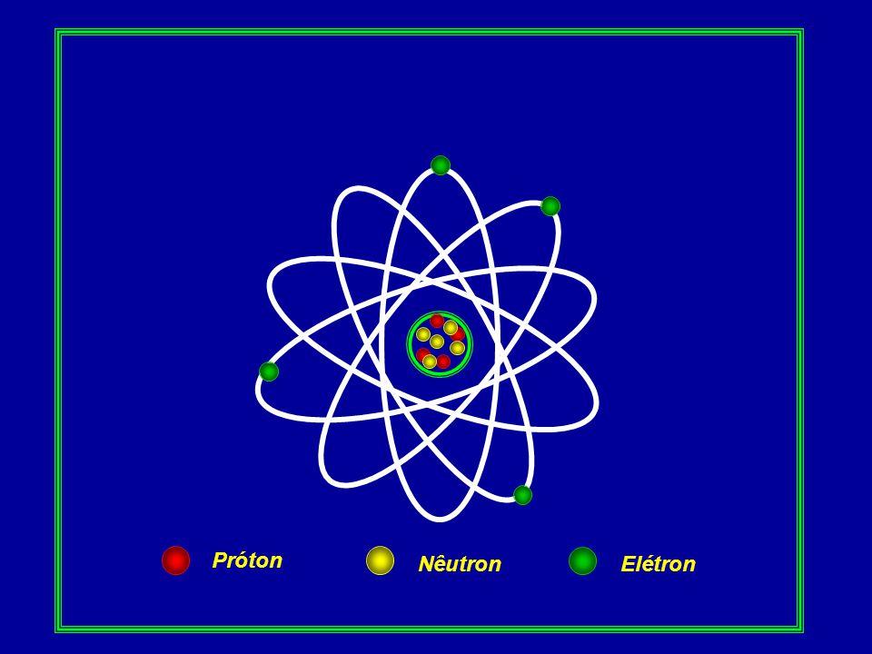 Próton NêutronElétron