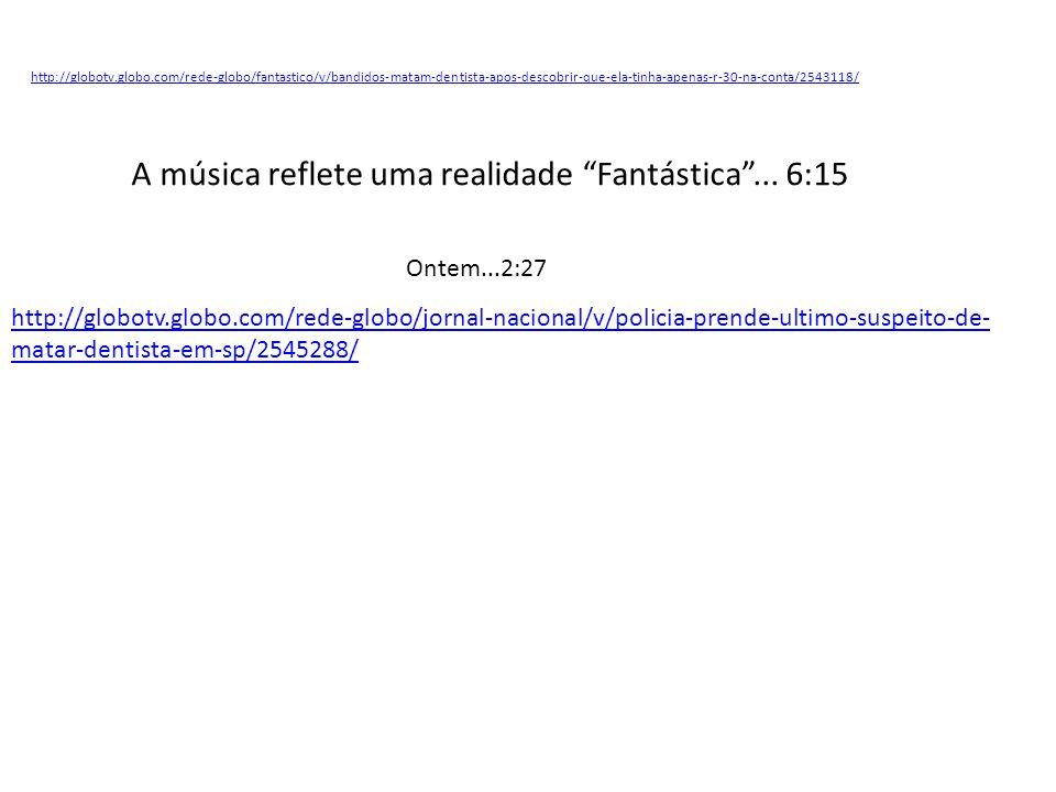 Após ter lido a letra da música Soldado do Morro, do rapper MV Bill, assinale V para as afirmativas verdadeiras e F para as falsas.
