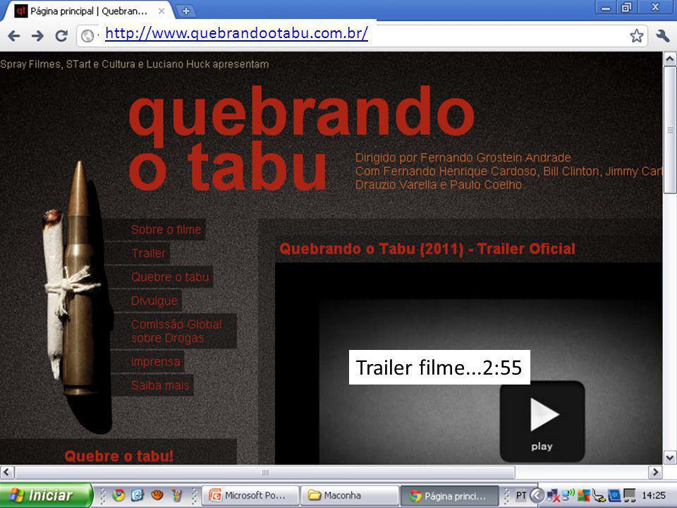 Trailer filme...2:55 http://www.quebrandootabu.com.br/