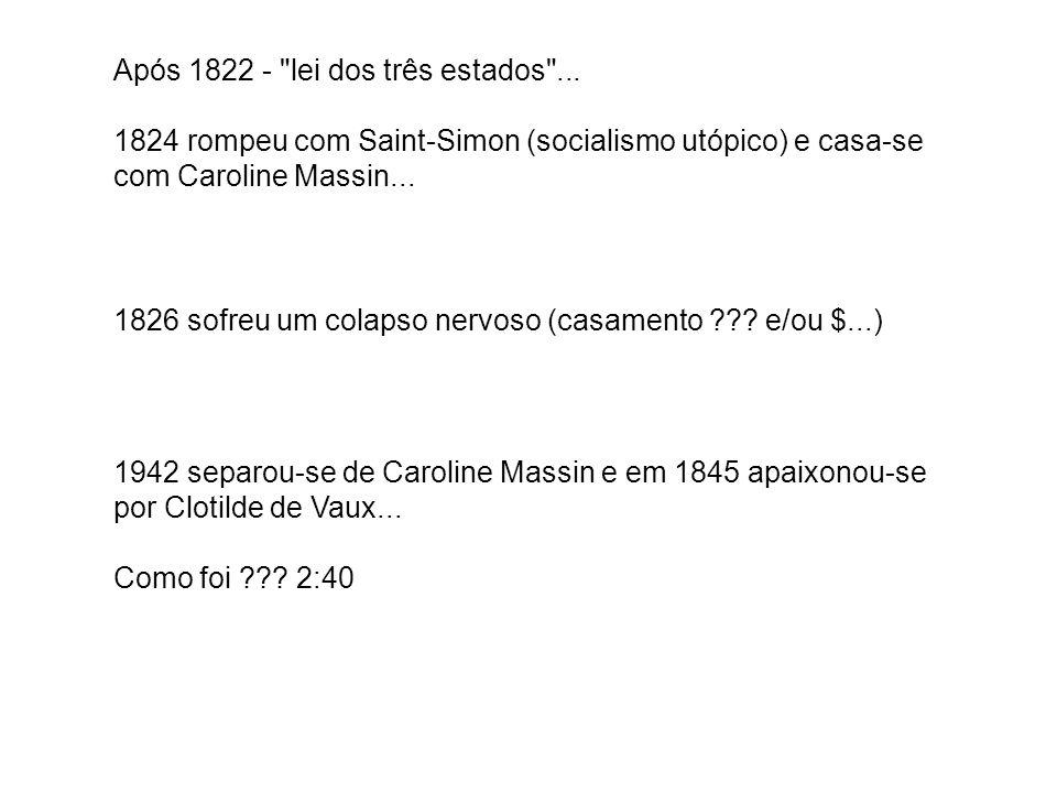 Após 1822 -