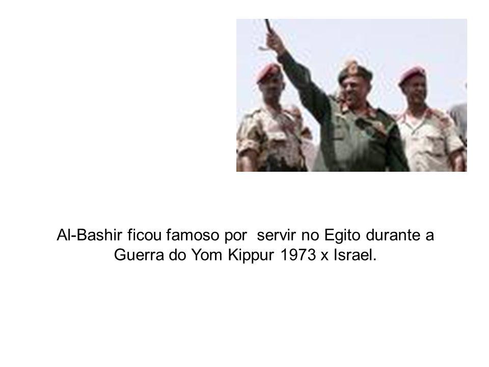 Al-Bashir ficou famoso por servir no Egito durante a Guerra do Yom Kippur 1973 x Israel.