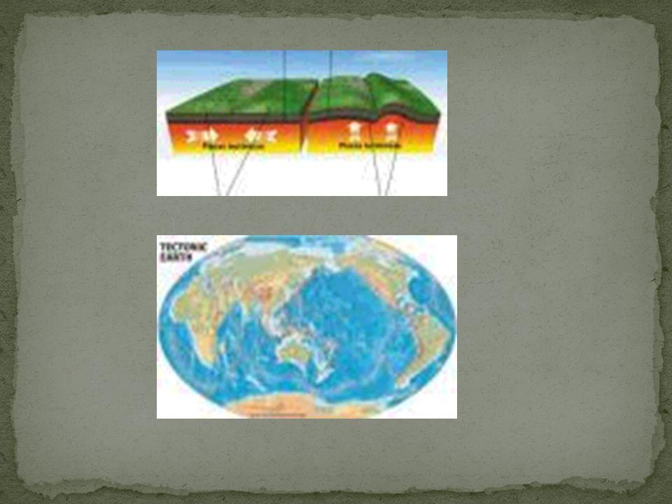 PLACAS TECTÔNICAS MOVIMENTOS DAS PLACAS ROCHOSAS DO PLANETA PLACAS ROCHOSAS SE APOIAM NO MAGMA (PLACAS TECTÔNICAS) PLACAS CRESCEM PELA AGREGAÇÃO DO MA