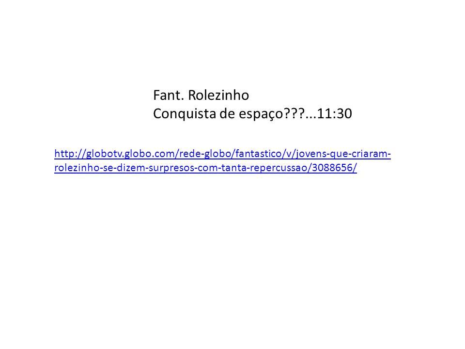 http://www.youtube.com/watch?v=NPfLaRfLgmA Em C.Grande...MS Record - rolezinho...3:31