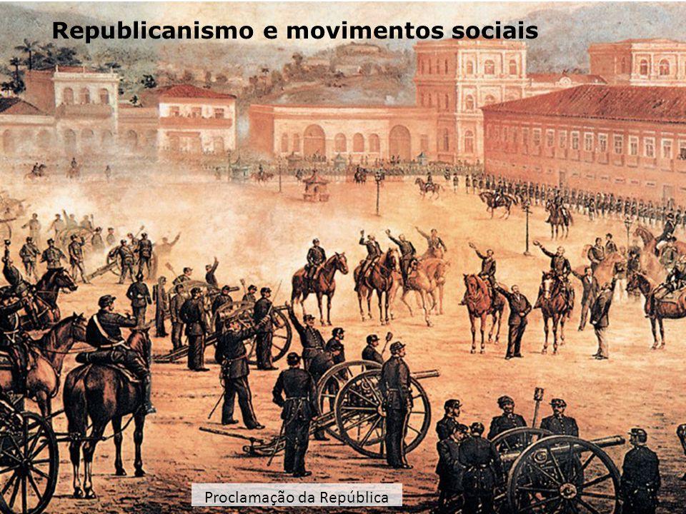 Os primeiros tempos: inclusão e exclusão Inauguração do Café do Rio, 1911Barracões do Morro do Pinto, 1912 No decorrer da Primeira República (1889-1930), grande parte da população brasileira continuou excluída de uma efetiva participação eleitoral.