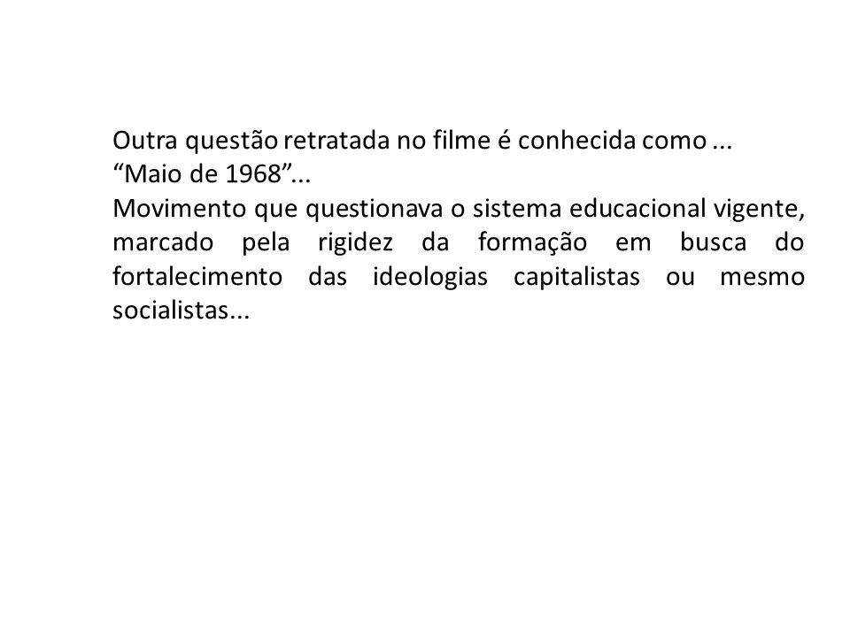 (UERJb) Em 1968, vários países foram palco de movimentos que expressaram insatisfações em relação ao sistema estabelecido.