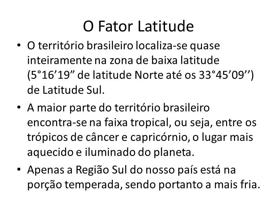 Cap. 02 – Os tipos de clima do Brasil