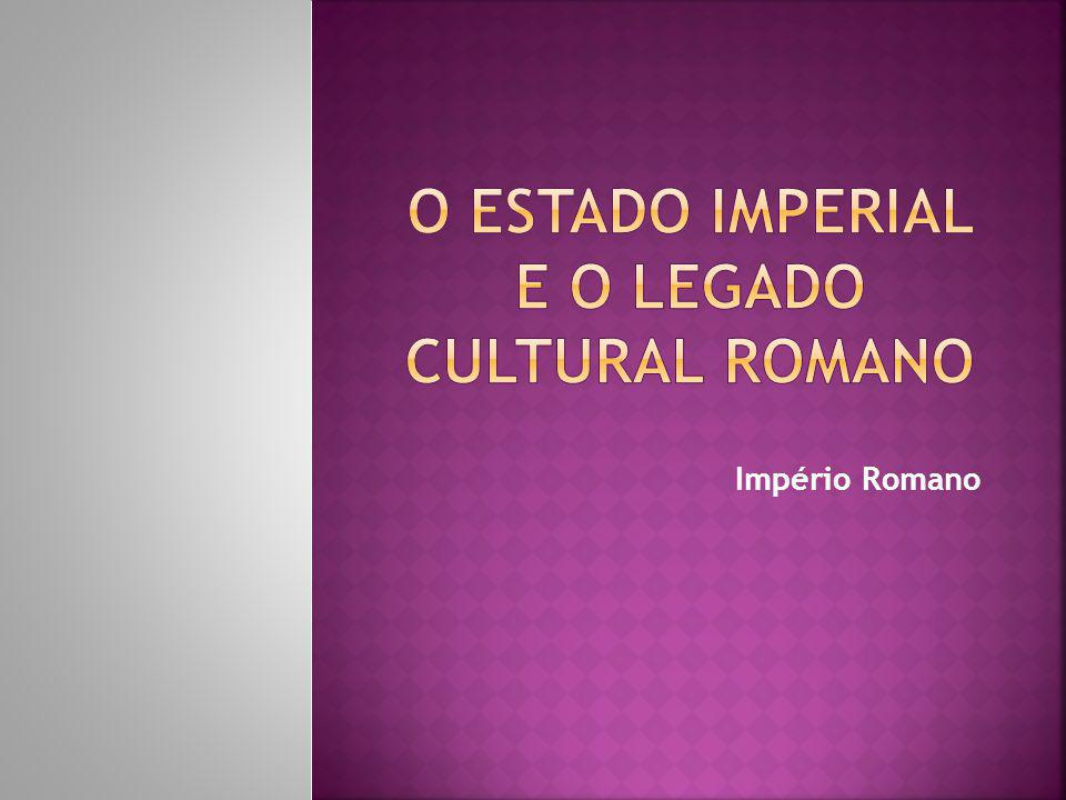 Expansionismo romano Supremacia romana no Mediterrâneo Aumento de riquezas Aumento do número de escravos Poderio militar A Crise e suas consequências A Guerra Civil As instituições políticas da República começaram a se desintegrar.
