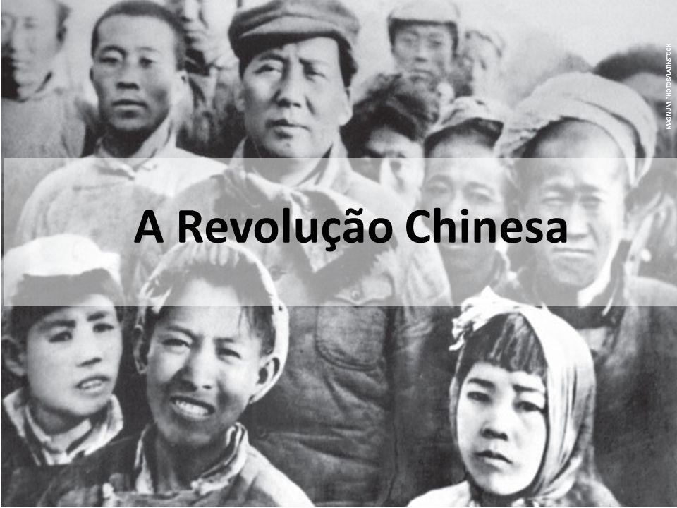 MAGNUM PHOTOS/LATINSTOCK A Revolução Chinesa