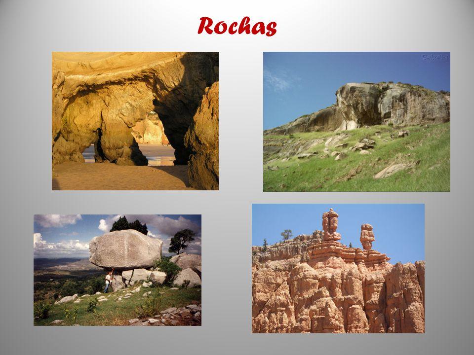 As rochas são, basicamente, associações naturais de dois ou mais minerais agregados e, normalmente, cobrindo vastas áreas da crosta (crusta) terrestre.