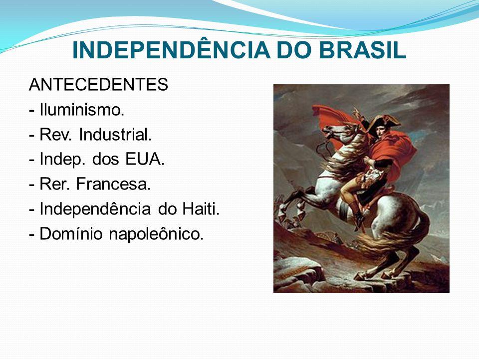 INDEPENDÊNCIA DO BRASIL ANTECEDENTES - Iluminismo.