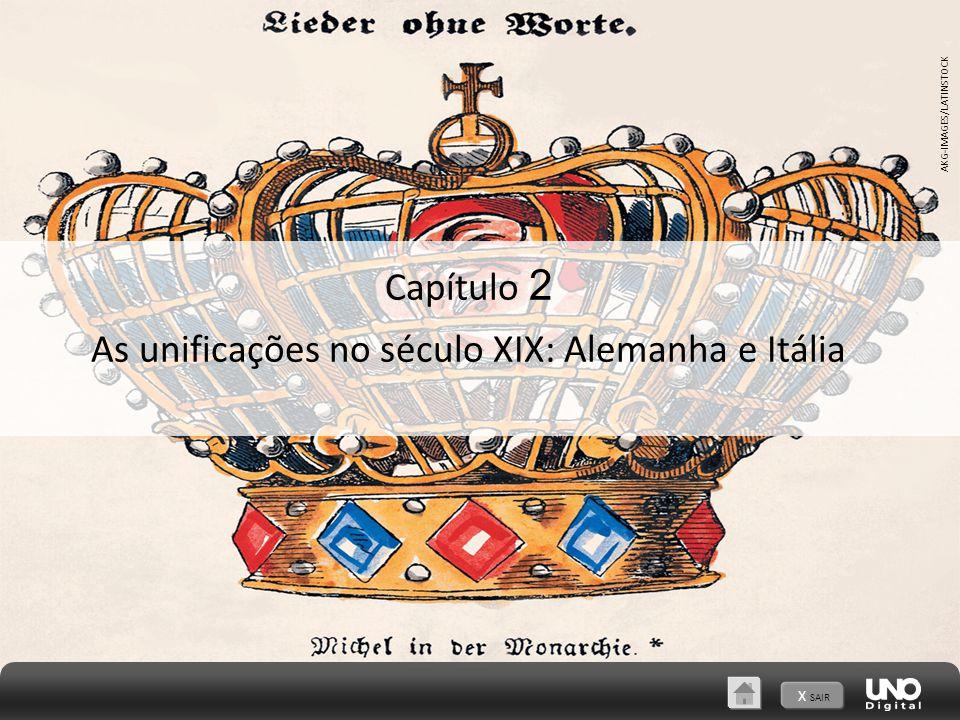 A unificação italiana 2 As unificações no século XIX: Alemanha e Itália