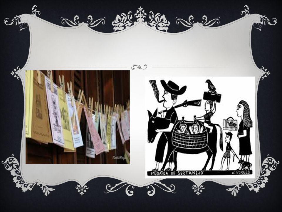 XILOGRAVURA Além dos versos as imagens que acompanham os textos ajudam a contar a história Na literatura de cordel a técnica mais utilizada é a xilogravura, tal técnica permite que a imagem seja reproduzida diversas vezes.
