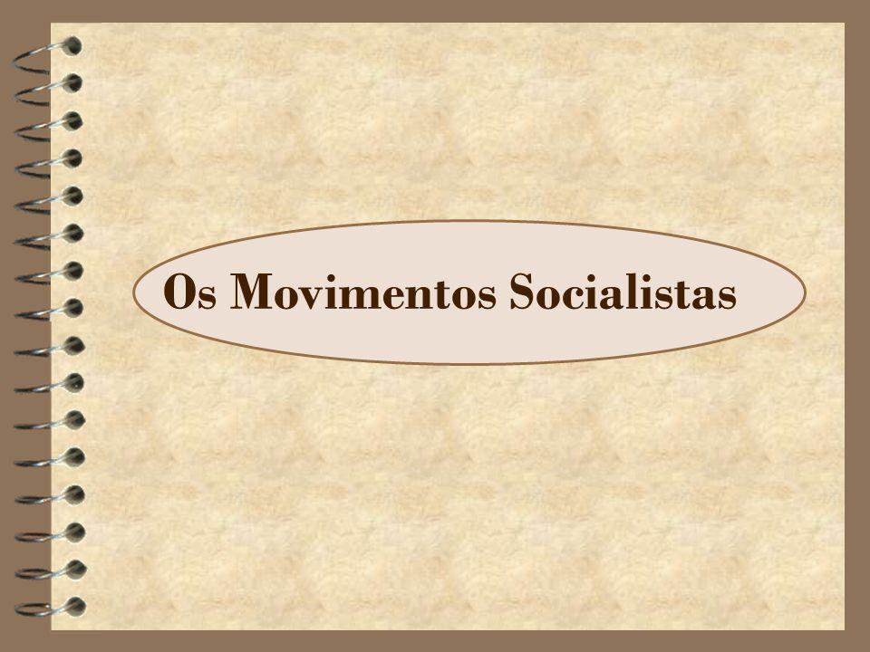 Os Movimentos Socialistas