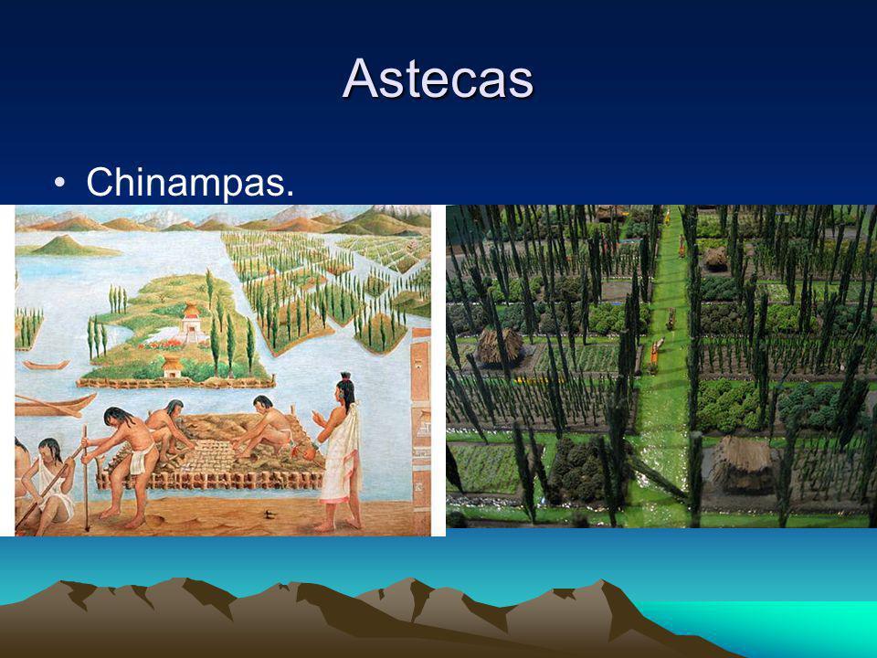 Astecas Chinampas.