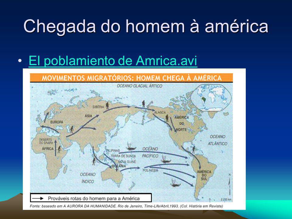 Chegada do homem à américa El poblamiento de Amrica.avi