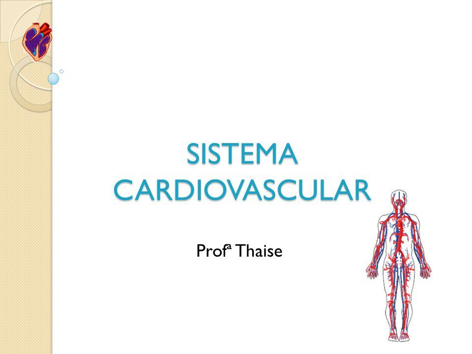 SISTEMA CARDIOVASCULAR Profª Thaise