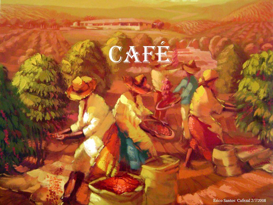 A lavoura cafeeira Foi em 1727 que o oficial português Francisco de Mello Palheta, vindo da Guiana Francesa, trouxe as primeiras mudas da rubiácea para o Brasil.