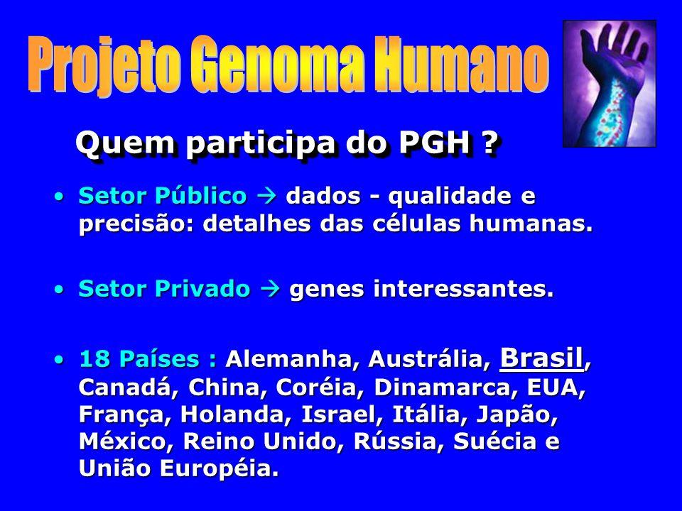 Quem participa do PGH .