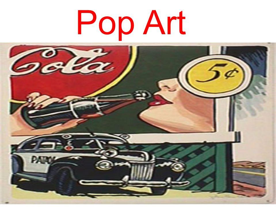 A Pop Art tem com o objetivo a crítica irônica do bombardeamento da sociedade capitalista pelos objetos de consumo, ela operava com signos estéticos de cores inusitadas massificados da publicidade e do consumo, usando como materiais principais,gesso, tinta acrílica, poliéster, látex, produtos com cores intensas, fluorescentes, brilhantes e vibrantes, reproduzindo objetos do cotidiano em tamanho consideravelmente, transformando o real em hiper- real.