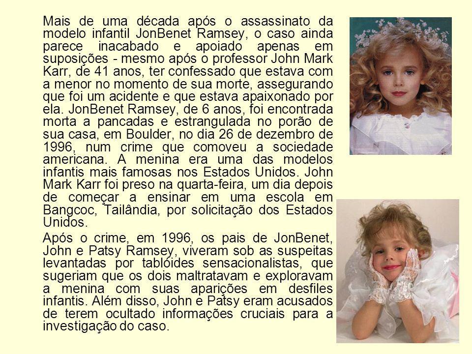 Mais de uma década após o assassinato da modelo infantil JonBenet Ramsey, o caso ainda parece inacabado e apoiado apenas em suposições - mesmo após o