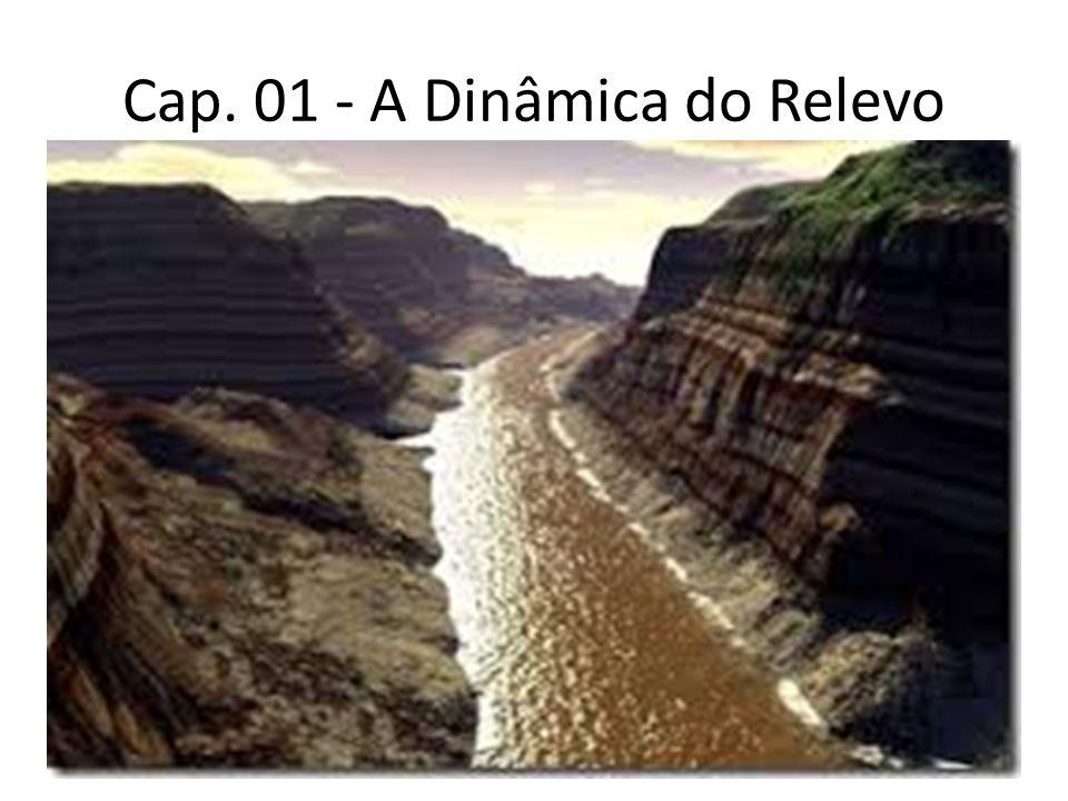 Cap. 01 - A Dinâmica do Relevo