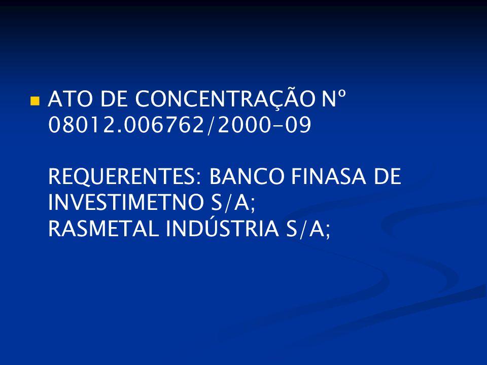 Martins e Alencar, 2009 Crises bancárias são, muitas vezes, seguidas por fusões e aquisições que podem elevar a concentração do sistema financeiro.