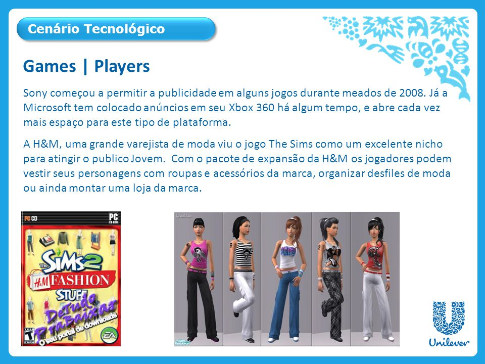 Sony começou a permitir a publicidade em alguns jogos durante meados de 2008. Já a Microsoft tem colocado anúncios em seu Xbox 360 há algum tempo, e a