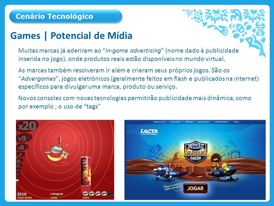 Muitas marcas já aderiram ao In-game advertising (nome dado à publicidade inserida no jogo), onde produtos reais estão disponíveis no mundo virtual.