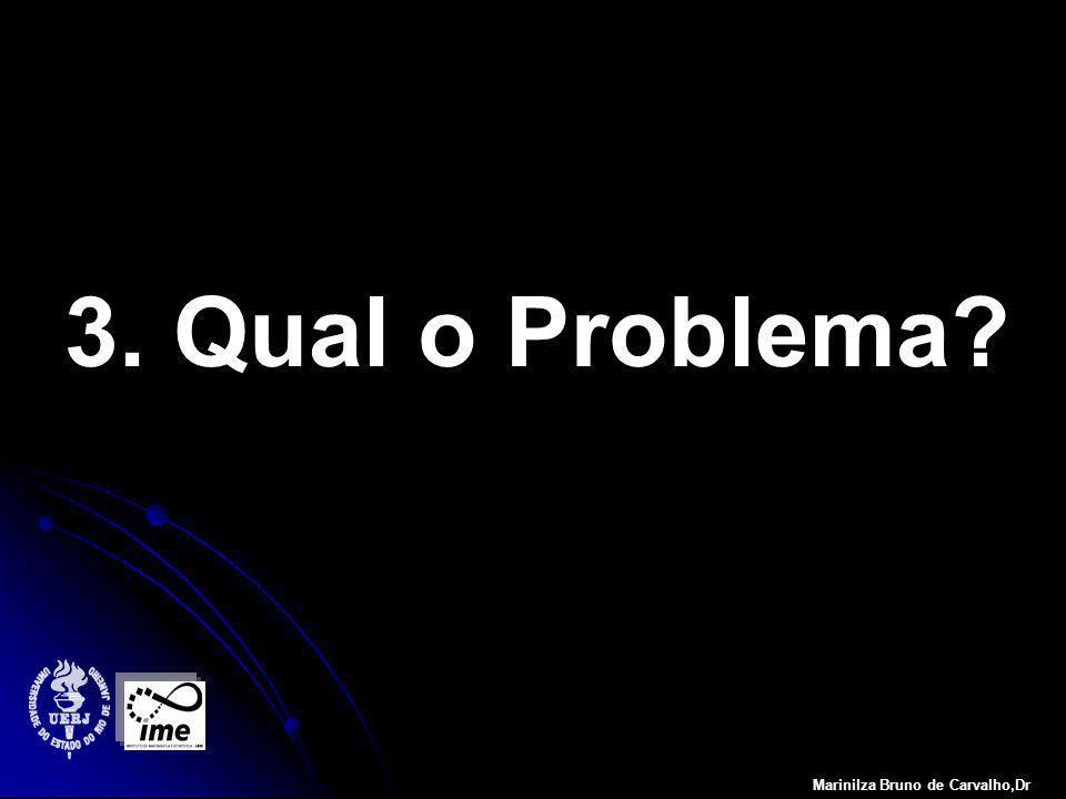 3. Qual o Problema? Marinilza Bruno de Carvalho,Dr
