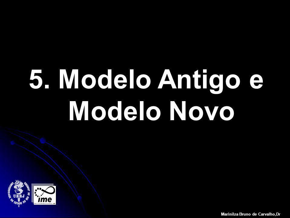5. Modelo Antigo e Modelo Novo Marinilza Bruno de Carvalho,Dr
