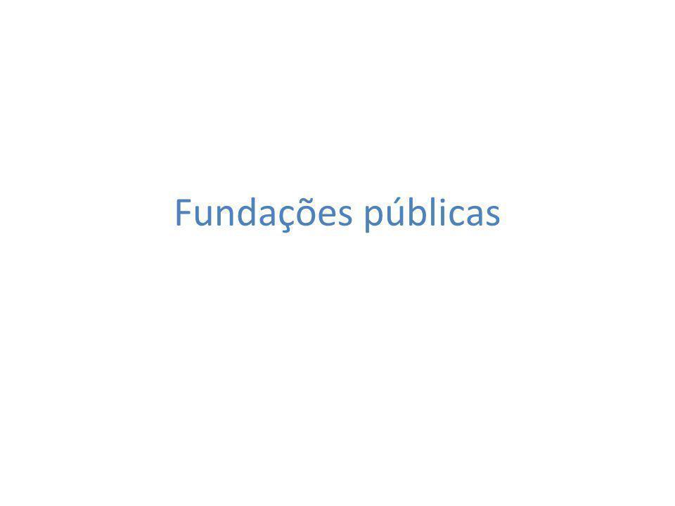 Fundações públicas