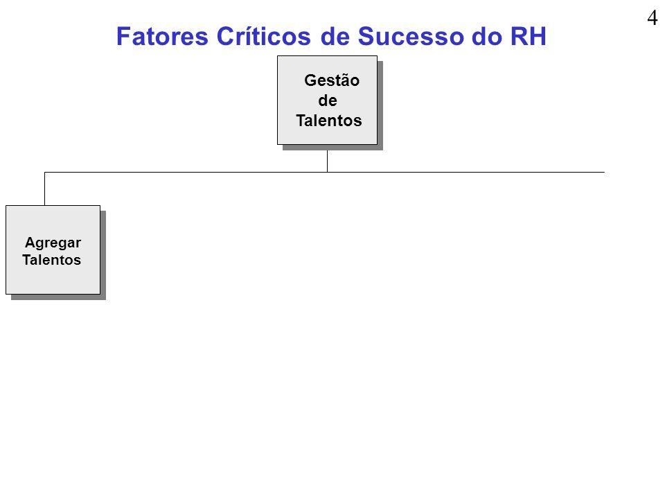 Fatores Críticos de Sucesso do RH Agregar Talentos Gestão de Talentos 4