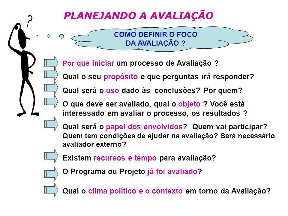 OBJETIVO PERGUNTA AVALIATIVA INDICADOR ( ES ) RESULTADOIMPACTO Avaliar o Resultado e o Impacto do Projeto X.