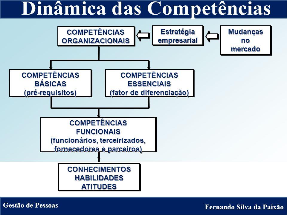 Sistema de Gestão das Competências Resumo Sistêmico Matrizes de Competências Requeridas Matrizes de Competências Evidenciadas Banco de Requisitos dos Cargos da Empresa Registros das Matrizes de Competências Requeridas Banco de Talentos da Empresa Registros das Matrizes de Competências Evidenciadas 2.3 Avaliação de Potencial e Desempenho 2.4 Plano de Desenvolvimento Profissional 2.1 Matrizes de Competências 2.2 Banco de Competências