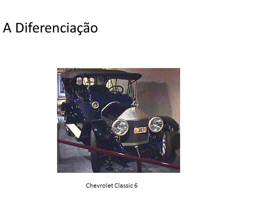 A Diferenciação Chevrolet Classic 6