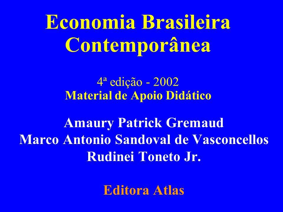 Parte III Capítulo 15Gremaud, Vasconcellos e Toneto Jr.22 O milagre econômico Período 1968-73: maiores taxas de crescimento do produto brasileiro na história recente - taxa média acima de 10% a.a.).
