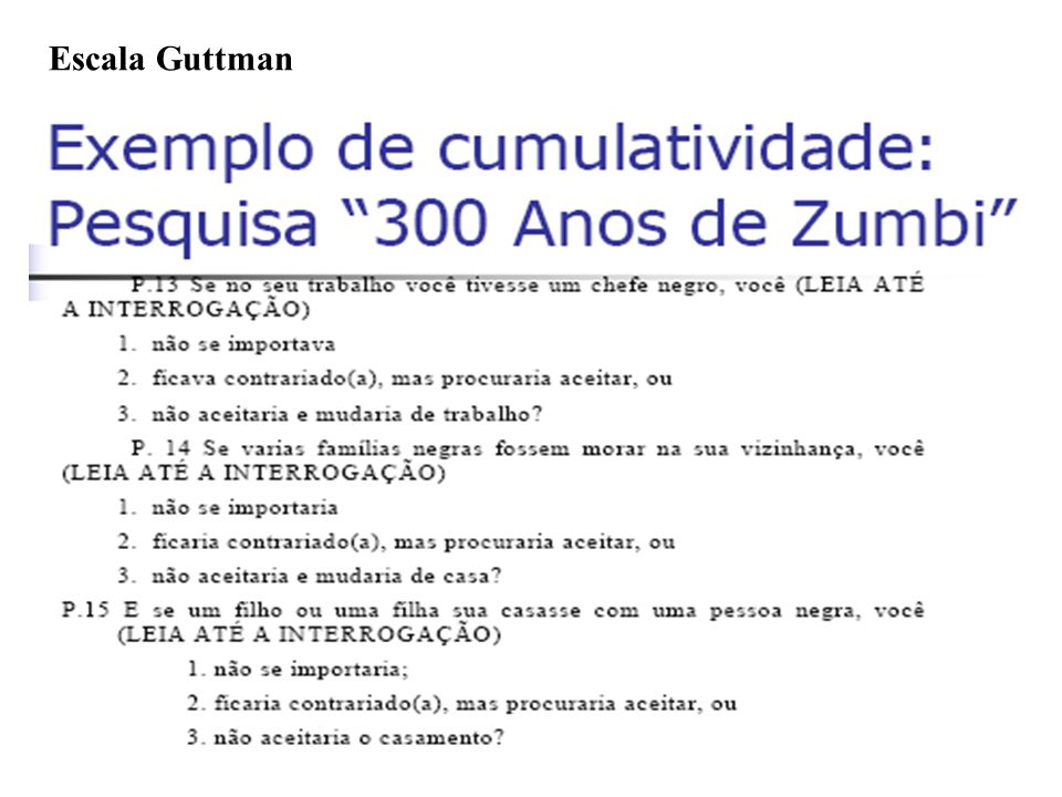 Escala Guttman