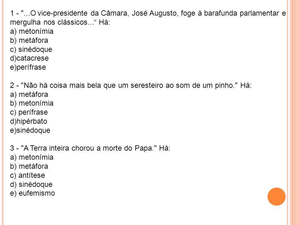 1 - ...O vice-presidente da Câmara, José Augusto, foge à barafunda parlamentar e mergulha nos clássicos...