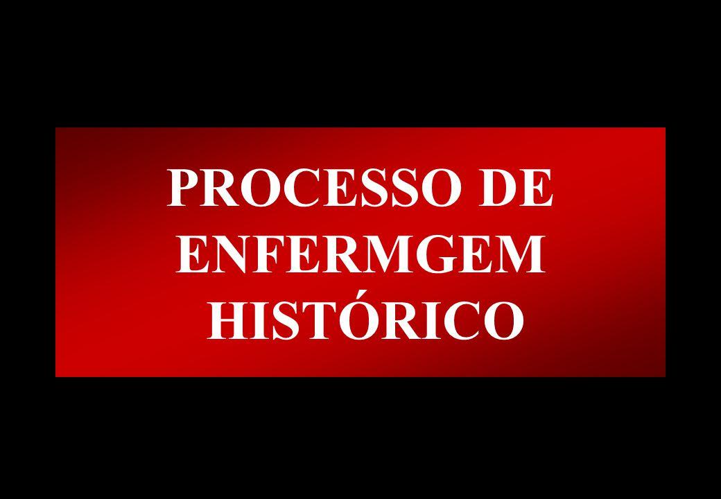 Prof MS Creto Valdivino e Silva PROCESSO DE ENFERMGEM HISTÓRICO