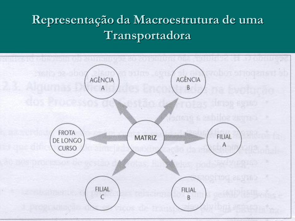 Representação da Macroestrutura de uma Transportadora