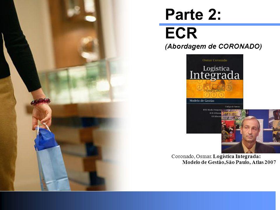 Parte 2: ECR (Abordagem de CORONADO) Coronado, Osmar. Logística Integrada: Modelo de Gestão,São Paulo, Atlas 2007