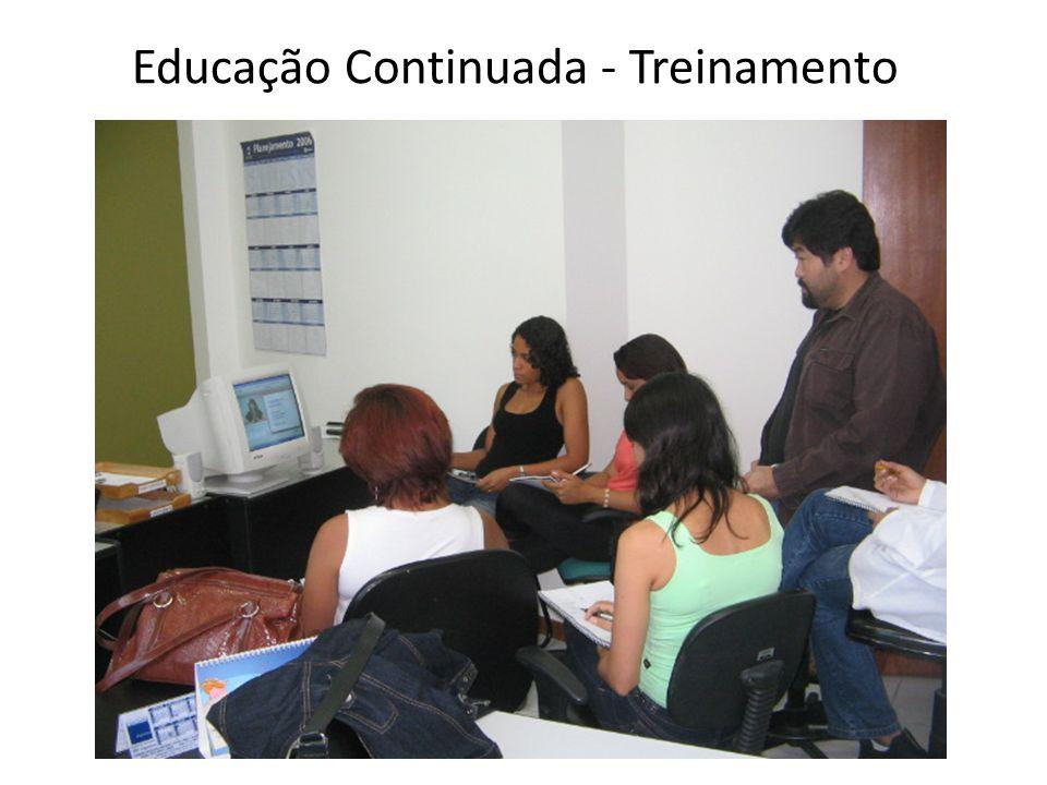TREINAMENTO Processo educacional de curto prazo; Mudança de comportamento; Aprendizagem restrita/focada.