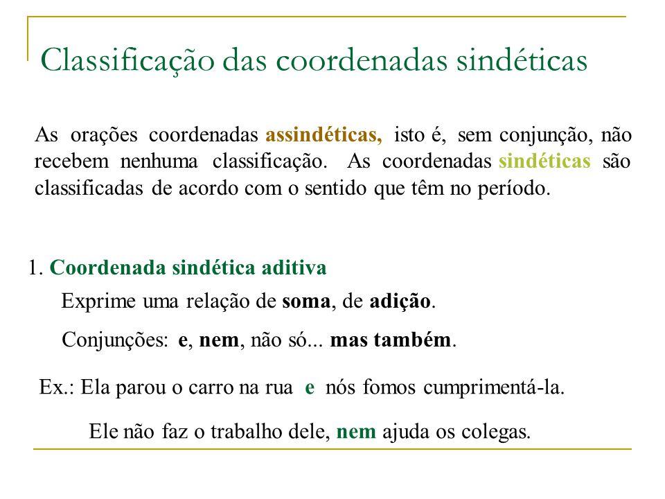 A oração subordinada adverbial causal cumpre o papel de Advérbio em relação à oração principal, isto é, indica a causa da ação expressa pelo verbo da oração principal.