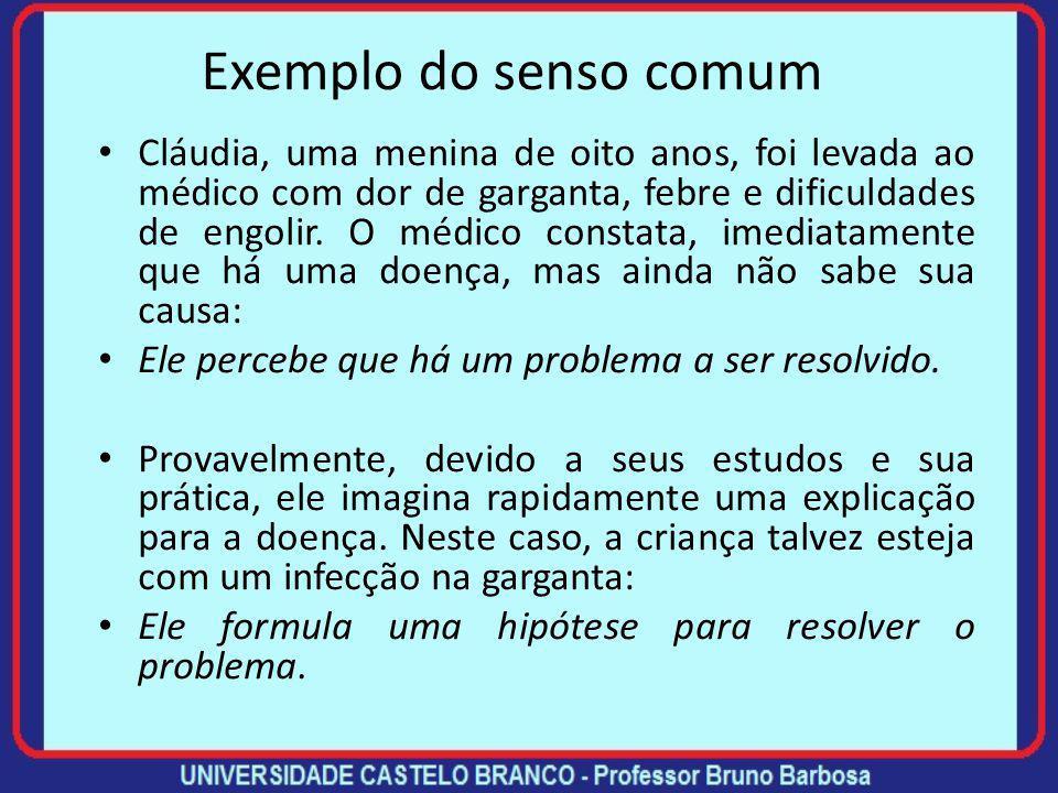 (Re)formulando hipóteses O processo de formulação de hipóteses é de natureza criativa e requer experiência na área.
